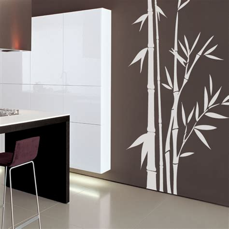 bamboo wall stickers great bamboo wall decals home design 937