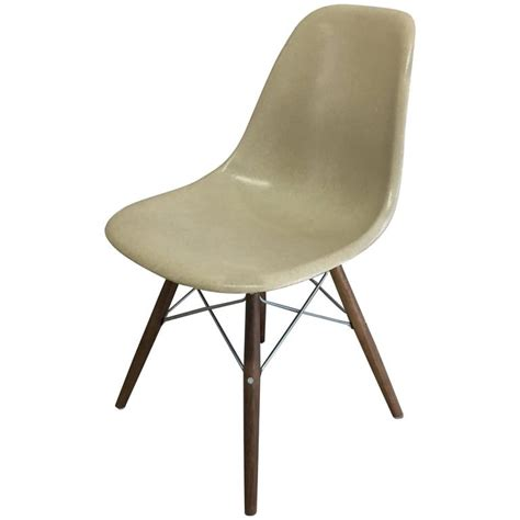 4 herman miller eames greige dsw dining chair for sale at