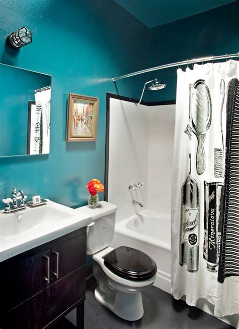 white bathroom with color accents accent colors black and white bathroom pinterest