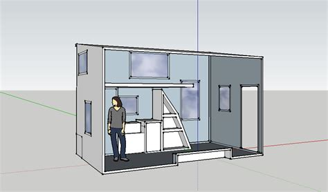 Another Tiny House Story Dear Google Sketchup I Am In
