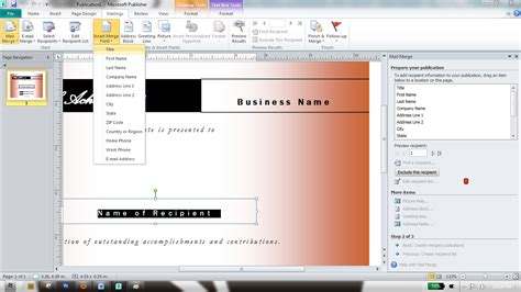 fungsi membuat mail merge askcodemik fungsi lain mail merge di ms office publisher
