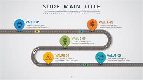 powerpoint index template road powerpoint template by pello1103 graphicriver