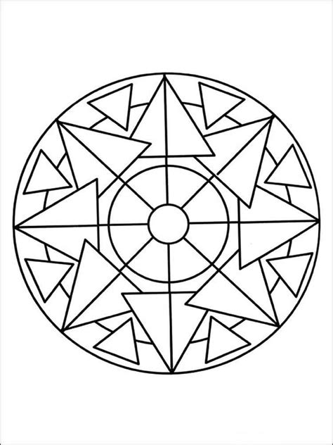 coloring pages for adults easy simple mandala coloring pages for adults free printable
