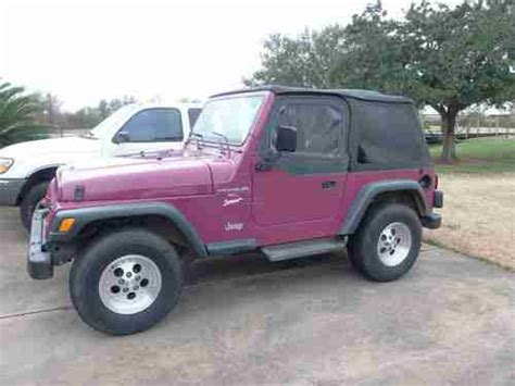 97 Jeep Wrangler Sport Buy Used 1997 97 Jeep Wrangler Sport New Bestop