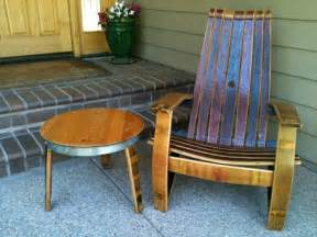 Wine Barrel Patio Furniture by Wine Barrel Products Patio Furniture Adirondack Chair