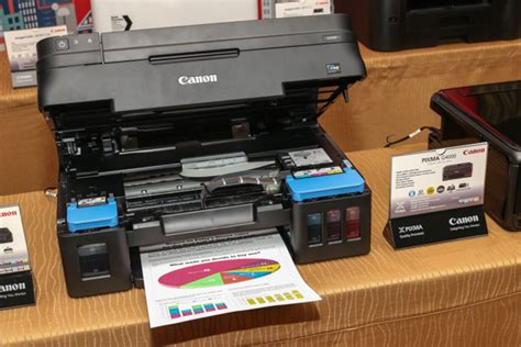 Printer Canon G4000 canon malaysia unveils printers of all shapes and sizes hardwarezone my