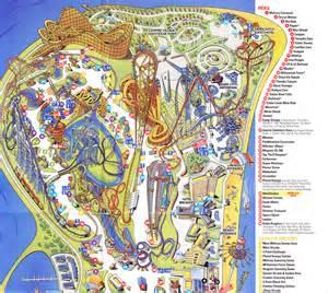 cedar point 2011 park map