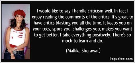 comments critics quotes about criticism quotesgram