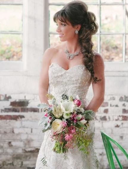 Wedding Hairstyles Fishtail Braid by 20 Best Wedding Hairstyles For Hair