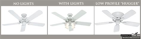 guide  common ceiling fan styles  blade count