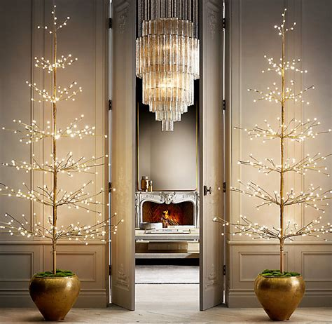 restoration hardware christmas trees for sale friday favorite restoration hardware twinkle trees kristywicks
