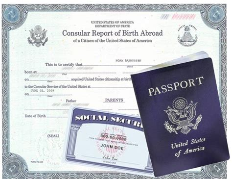 Record Of Birth Abroad How Do I Prove My U S Citizenship Status U S Immigration