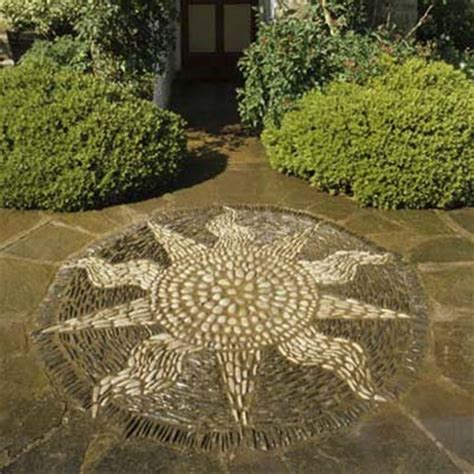 mosaic pattern patio second sun 8 great patterns for a pebble mosaic this