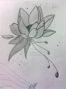 Lotus Pencil Sketch Lotus Flower By Gioice On Deviantart