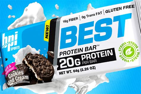 Top Selling Protein Bars by Best Protein Bar Flavored With Stevia Gluten Free And