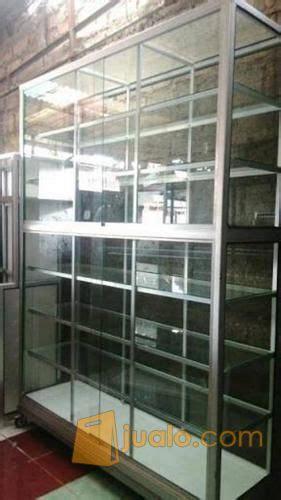 Rak Minimarket Di Aceh rak kaca aluminium banda aceh jualo