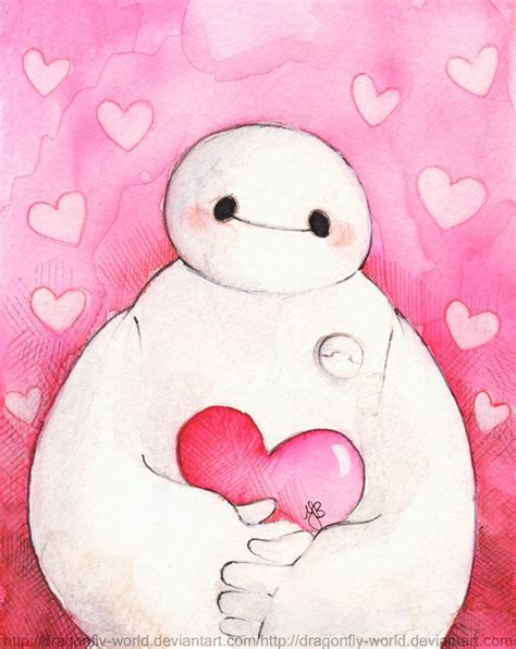 baymax life wallpaper baymax love you by dragonfly world on deviantart i is