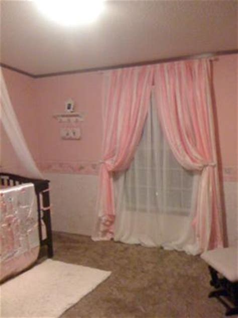 pink and white nursery curtains pink nursery made for a princess