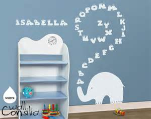 Elephant Wall Stickers For Nursery Baby Nursery Wall Decal Elephant Wall Decal Elephant