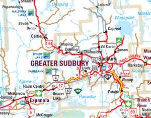 sudbury canada map onaping high falls a must see for anyone passing through