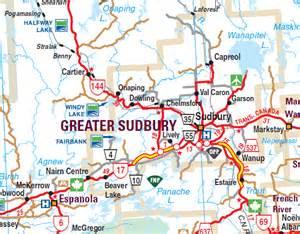 image gallery sudbury maps