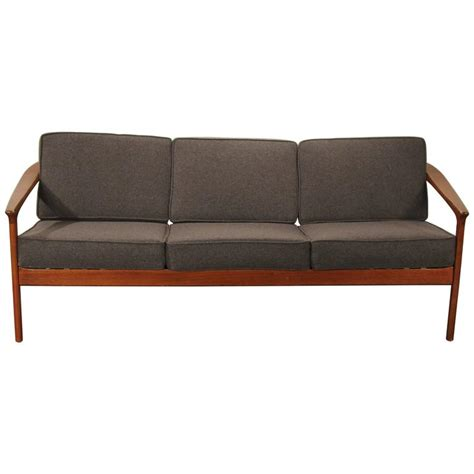 dux sofa folke ohlsson for dux solid teak sofa for sale at 1stdibs