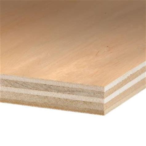 home depot paint grade plywood columbia forest products 3 4 in x 4 ft x 8 ft purebond