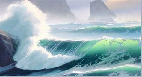 watercolor waves tutorial 28 visit and swim in the four major oceans results are in
