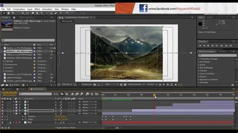 Adobe After Effects Cs6 How To Make Slideshow Youtube After Effects Templates Free Cs6