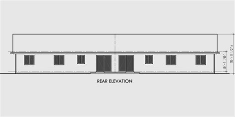 duplex house plans with garage in the middle one story duplex house plans 3 bedroom duplex plans