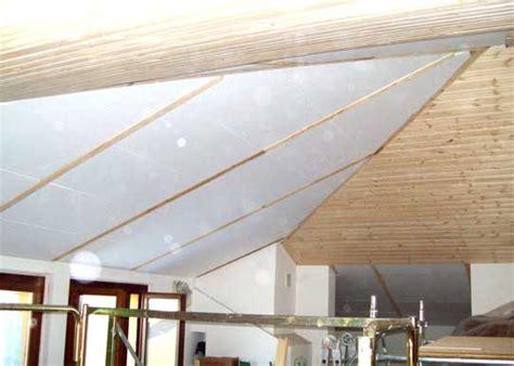 coibentazione soffitto interno 187 isolamento termico soffitto mansarda