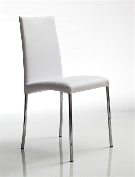 sedie in pelle per cucina sedia in metallo con gambe cromate rivestimento in pelle