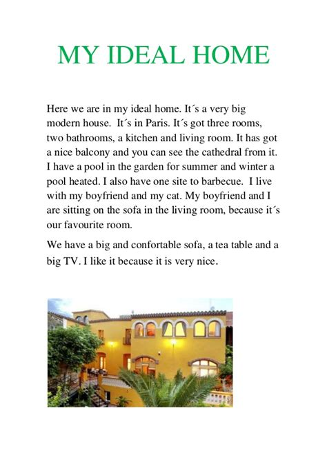 My Ideal House Essay by My Ideal Home Essay Spm 2017 Docoments Ojazlink