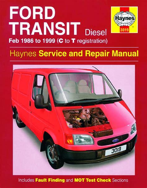 automotive service manuals 1986 ford taurus engine control motoraceworld ford vans manuals