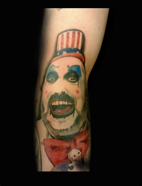 spaulding tattoo captain spaulding by kayden7 on deviantart