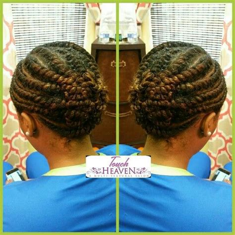 Flat Hairstyles by Flat Twist Updo On Hair Www Touchofheavensalon