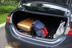 Trunk Space Toyota Corolla The All New Toyota Corolla Altis Car Review Missuschewy