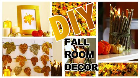 fall room decor diy diy autumn fall room decor 3 easy diy fall home decoration ideas