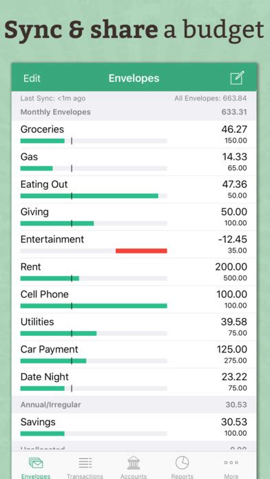 Budget Spreadsheet App by Goodbudget Budget Planner Money Expense Tracker On The