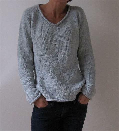 knit pattern top down sweater tweed free pattern and simple on pinterest