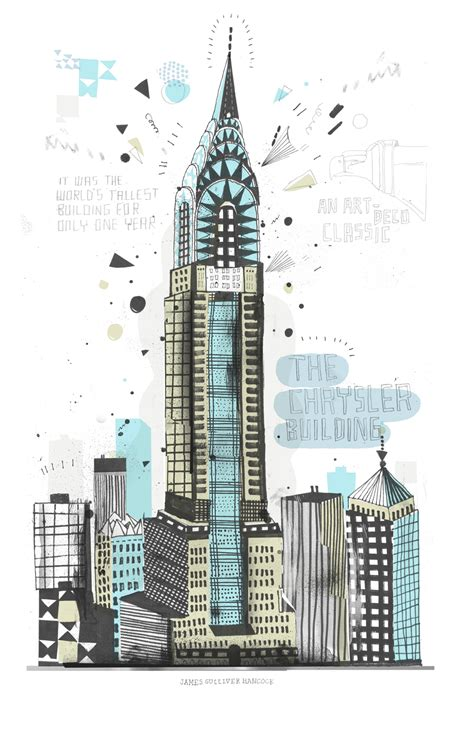 Sketches New York by One S Quest To Draw 900 000 Buildings In New York City