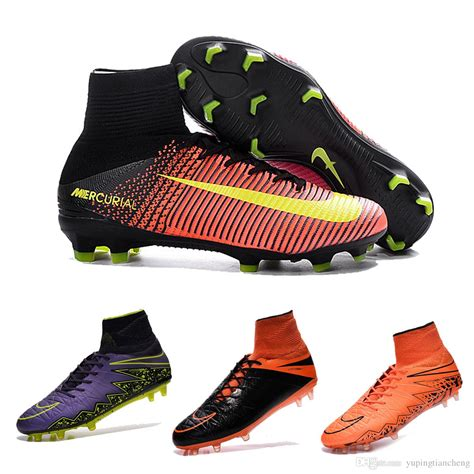 2017 2016 new 100 original cr7 fg soccer shoes hypervenom phantom ii fg soccer cleats high