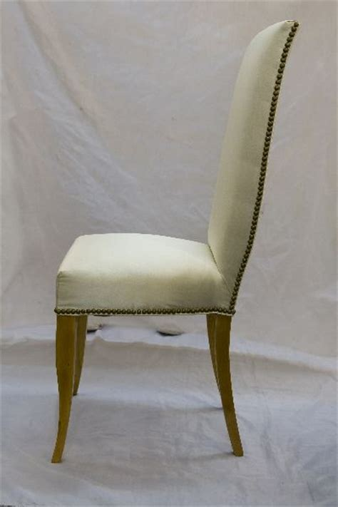 Vanity Chair With Back by High Back Vanity Chair At 1stdibs