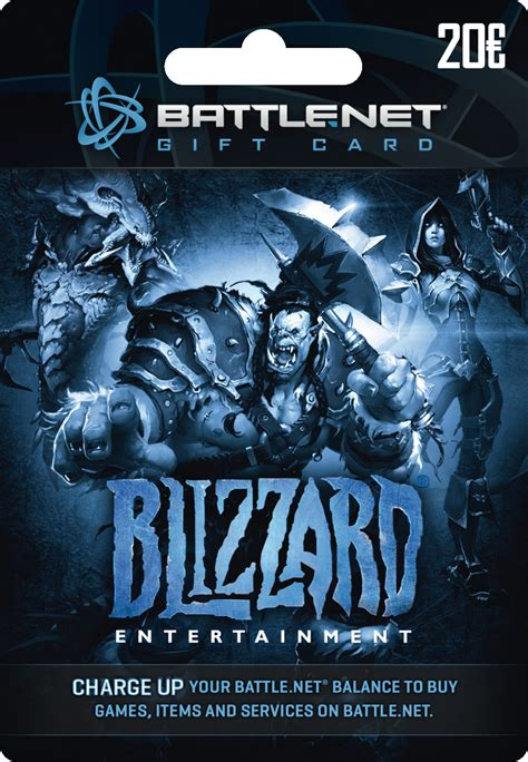 Battle Net Balance Gift Card - battlenet balance cards hearthstone