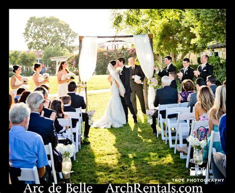 wedding arch rental az wood rustic wedding chuppah by arc de