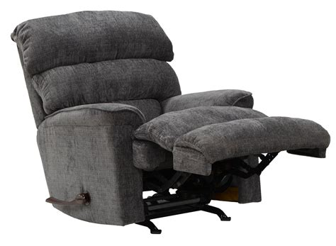 charcoal recliner pearson charcoal rocker recliner from catnapper