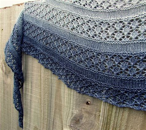 free shawl patterns to knit or crochet serenity shawl simple clean openwork crescent shawl