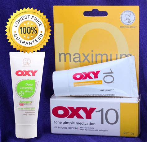 Oxy 5 Acne Pimple Medication10gr oxy 10 maximum strength acne pimple blemish 10 benzoyl