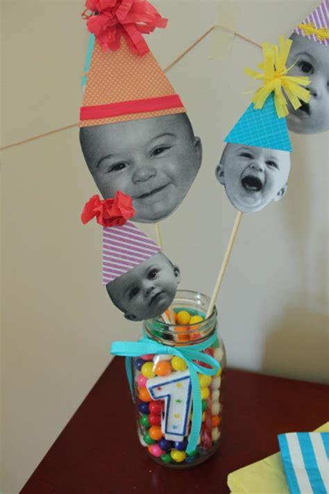 decorar fotos de bebes gratis decorar con fotos de bebe para cumplea 241 os de 1 a 241 o