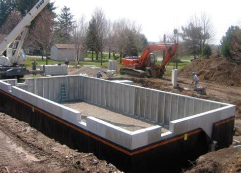 precast concrete basement walls foundations national precast concrete association